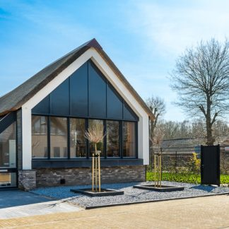 prijs houtskeletbouw huis