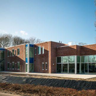 prefab schoolgebouw