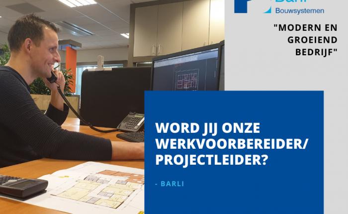 Vacature-alert: Werkvoorbereider-projectleider