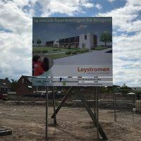 14 DUO woningen voor woningstichting Leystromen