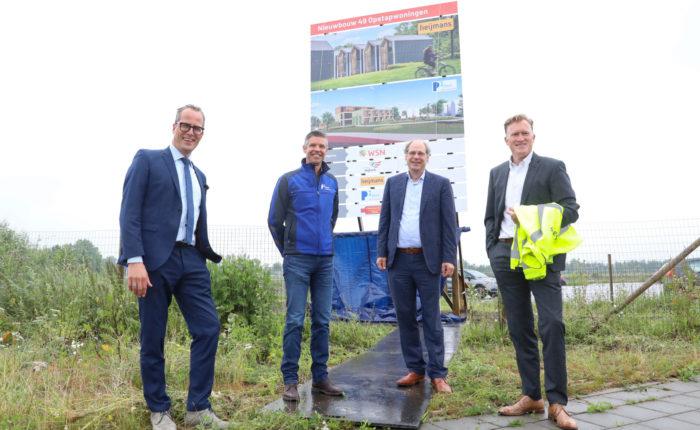 Startsein bouw opstapwoningen in Nijkerk